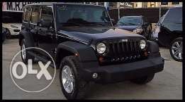 Jeep Wrangler Unlimited 2013 Black!