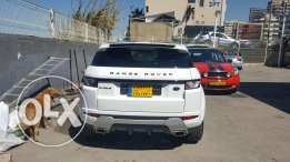 Evoque white / red
