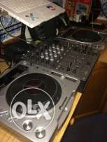 Pioneer Mk2 Cdj with mixer 600 new