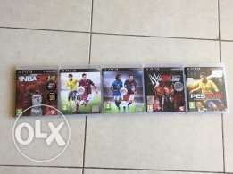 5 games for PS3 bi 100$