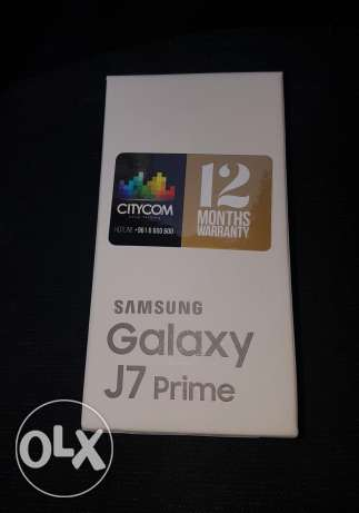 j7 prime 2017 32gb gold / not used