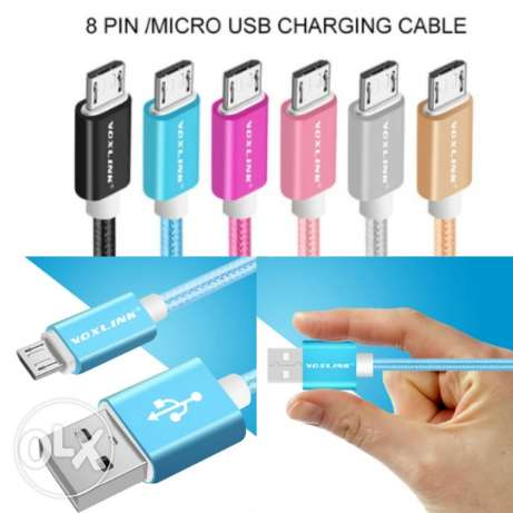 3 meters unbreakable micro usb cable