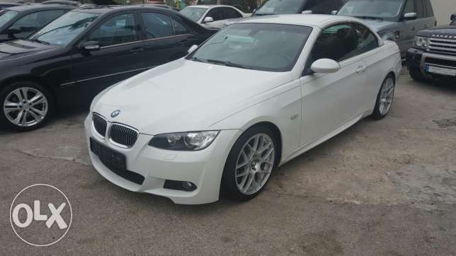 Bmw 335 cabriolet M package luxury ajnabieh clean car fax
