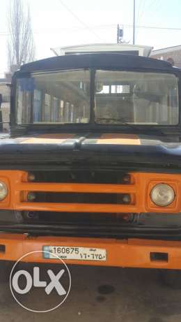 Dodge bus painted new high ceiling prepared for cooking
