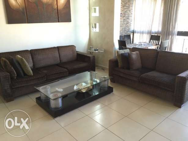 Living Room Couches and Table برج ابي حيدر -  2
