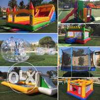 Inflatables and outdoor fun