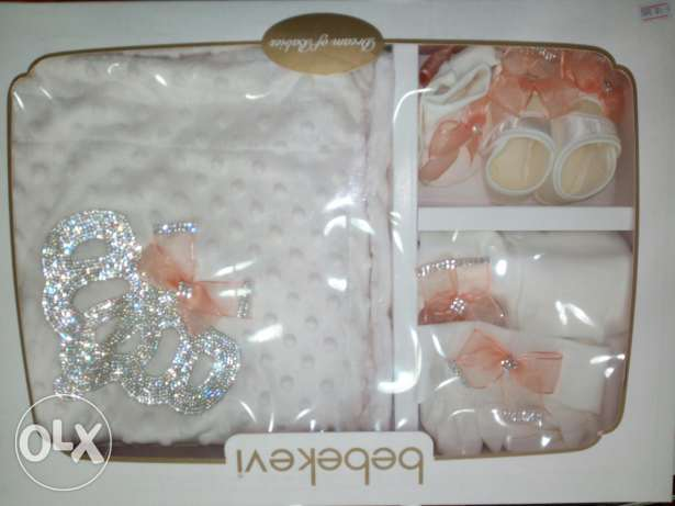 Luxurious set for babies after the delivery , تضهيرة مستشفى
