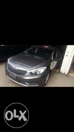 Kia Cerato 2014 Grey. Automatic With full options. 11,000$.