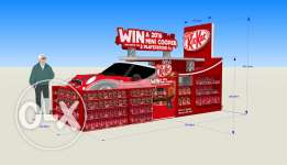 3D DESIGNER for your Supermarket stands and displays