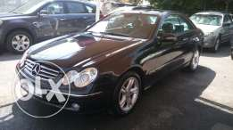 Mercedes clk240 black on black