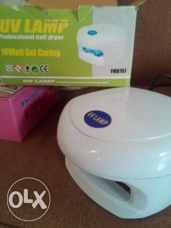 18W UV Gel Nail Curing Lamp Dryer FMD-707
