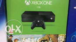 xbox one with game