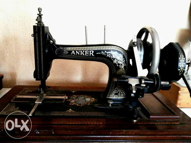 ANKER sewing machine antique