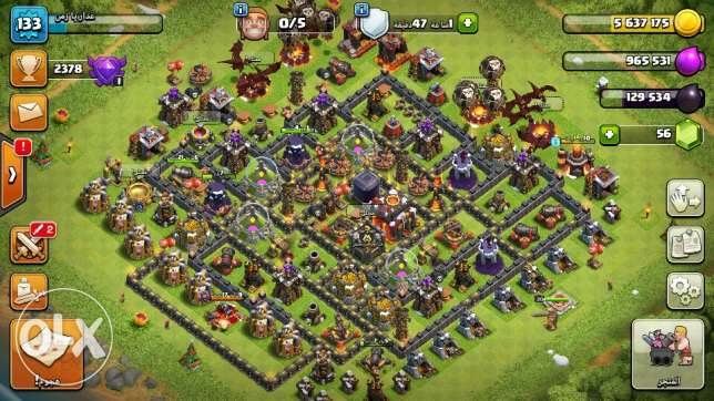 clash of clans lev10