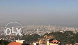 2 Apartments for sale in Ain Saadeh with panoramic Beirut & sea view