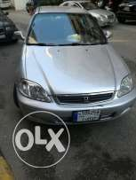 honda civic silver 1999 very good condition
