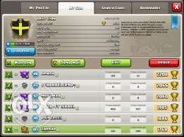 Clan Lvl 9 and town hall9 base