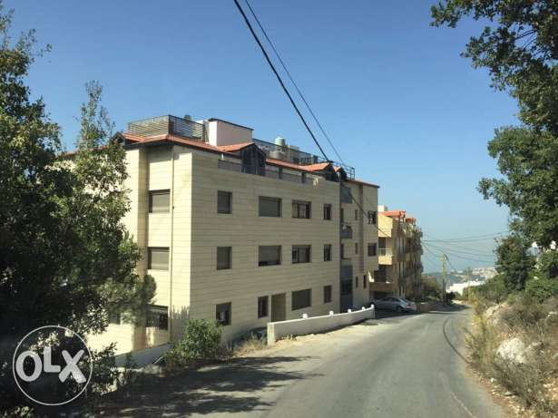 Bikfaya 145 sqm + 40 sqm terrace brand new with sea view بكفيا -  1