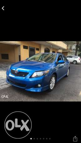 corolla s 2010 low milage clean car fax like new