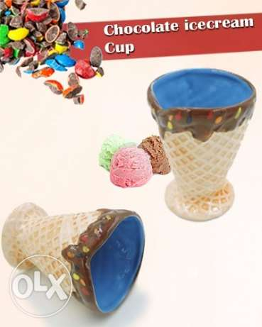 Chocolate icecream cup