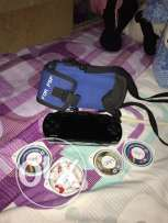 psp with 4 game cds