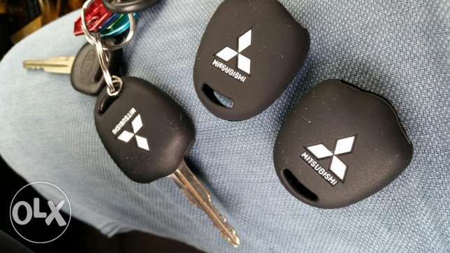 Silicon key cover for mitsubishi code safety