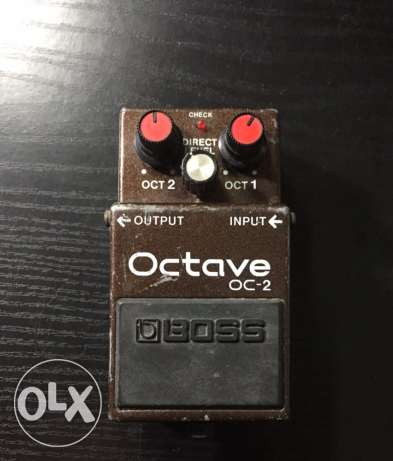 octave oc-2 Guitar effects pedal