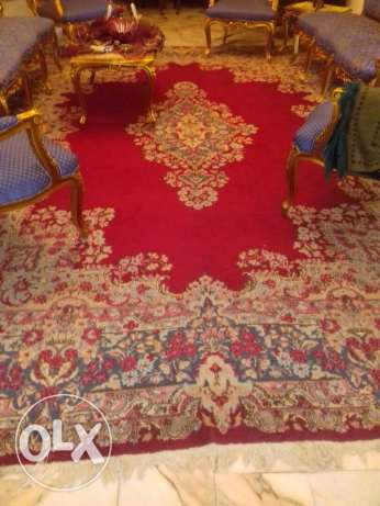 Kerman rug 16m2 very small knots more than 85 years old.