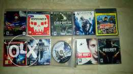 Barely used ps3 games.