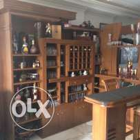 BAR Very Elegant wooden home bar like new 2mx2m
