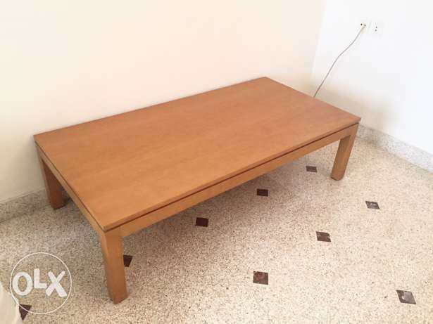 Wooden Tables almost brand new