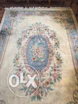 2 wool Chinese carpets