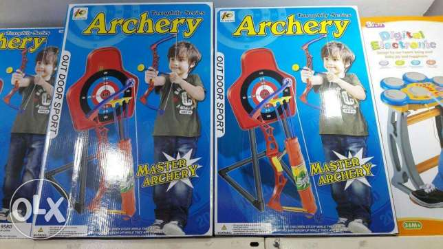 Archer game for kids with stand