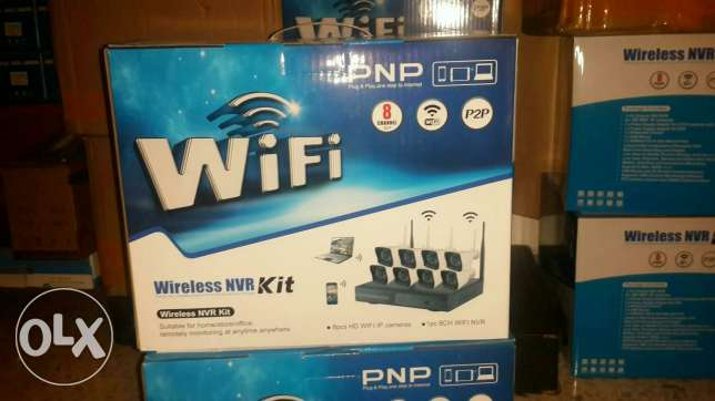 Wireless cctv 8channel NVR KIT free online