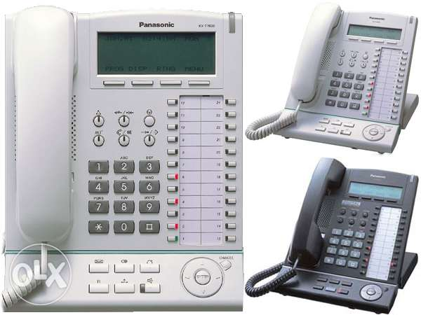 PANASONIC OPERATOR 6/16 + PC Connection + 8 Key Telephones + MDF+ UPS