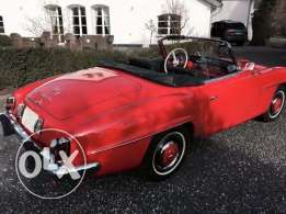 1953 Classical Mercedes Benz 190 Sl Fully Restored