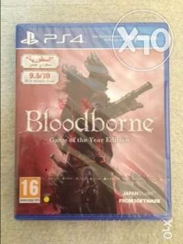 ps4 game - bloodborne