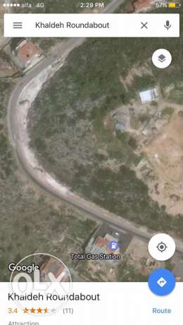 land for sale 1660 sq m in khaldeh