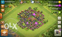 coc town 8 price 30$