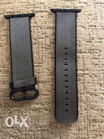Woven Nylon + Silicone Sport bands 42mm