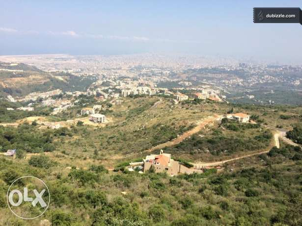 Land in the hills of ain anoub 750 m2