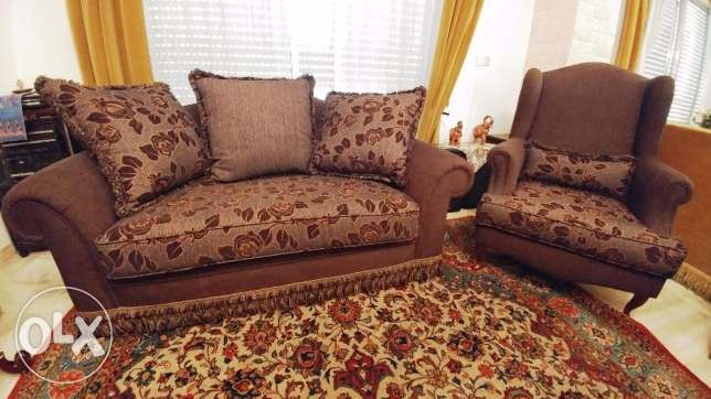 Furniture set of 3 couches - Great condition!