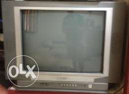 TV SHARP and DVD player 80 $ if both together