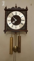 Vintage wall clock. Germany