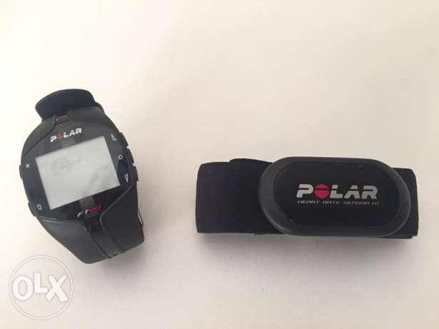 Polar FT80 Heart Rate Monitor Watch (Black)