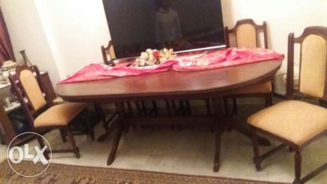 Home dinner table
