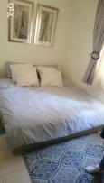 Heavy-duty bed with medical mattress, very comfortable, still as new