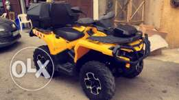 canam atv mod 2012 very clean for sale