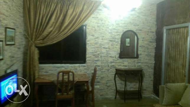 Ainlmrysi , One bedroom, one Salon , kitchin , bathroom , Balkon,Wifi ميناء الحصن -  4