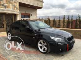 2007 BMW 525i Look M5 beautiful car انقاد